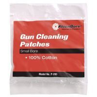Kleen Bore 100% Cotton Cleaning Patches for Small Bore Rifles P200