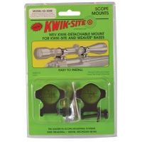 Kwik-Site Weaver Style Rings X-High to 64mm Objective Matte Black KS-305M