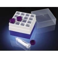 Labcon 16-Place and 36-Place Freezer Storage Boxes for 50 mL and 15 mL Centrifuge Tubes 2703-220-000 36-Place Storage Box For 15 Ml Tubes