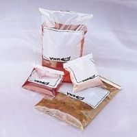 Labplas Sterile Sample Bags EPR-5590 Round Wire Bags With Safety Tabs And White Marking Area