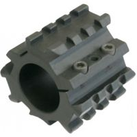Laser Devices 1in. MIL-SPEC-1913 Triple Rail Adapter for Winchester 1300 Defender and Remington 870, 1100, 1187