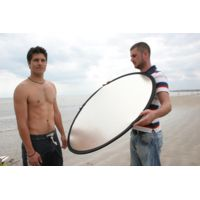 "Lastolite Camera Lighting Equipment 20"" Collapsible Reflector - Gold/white LL LR2041"