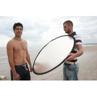"Lastolite Camera Lighting Equipment 30"" Collapsible Reflector - Silver/white LL LR3031"