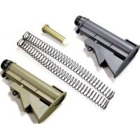 Leapers AR-15/M4 Carbine Stock Re-enforced, 4 Adjusting Positions, Black. For Pre-ban Guns and Target Sport