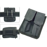 Leapers Dual Pistol Mag Pouch, Closure PVC-MP2