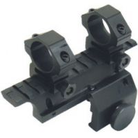 Leapers Mini-14 Weaver Style Mount with 1 inch Rings MNT-214