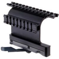 Leapers AK Double Picatinny Rail Side Mount With Quick Detachable/Lock Lever MNT-978