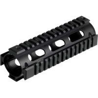 Leapers UTG PRO Made in USA Model 4 Carbine Length Tactical Quad Rails w/ Rail Covers MTU001