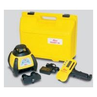 Leica Geosystems 6000732 Rugby 50 GC Construction Laser Package: Rod-Eye Pro, Re-Chargeable Batteries