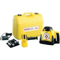 Leica Geosystems Rugby 200 Class IIIa Interior Construction Laser Package w/ Deluxe Case & Rechargeable Battery, w/o Remote Control 740235