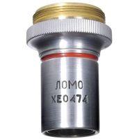 LOMO Objective, Plan Achromat, 4x, 0.12 N.A., DIN