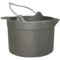 Lyman Cast Iron Lead Pot 10 Pound