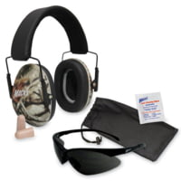 Macks Double Up Safety Kit w/ Earmuffs and Safety Glasses