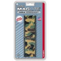 MagLite AM2A136 Mini MagLite AA Flashlight Nylon Full Flap Camo Holster