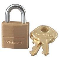 Master Lock Pin Tumbler Solid Brass Locks Keyed Differently 120-D