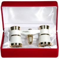 Masterpiece Collection Ovation 3x Opera Glasses, White Finish