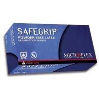 Microflex Safegrip Powder-Free Latex Gloves, Microflex SG-375-S
