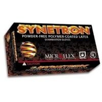 Microflex Synetron Polymer-Coated Latex Examination Gloves, Microflex SY-911-S