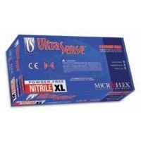 Microflex UltraSense Powder-Free Nitrile Gloves, Microflex US-220-XL