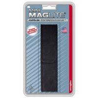 Mini MagLite AAA-Cell Flashlight Black Nylon Belt Holster