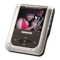 "Minox DMP-4 Media Player with Built-in 2 GB Flash Memory, MP3/Movie Player& JPEG Viewer w/ 2.5"" LCD Display 61606"