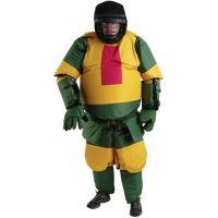Monadnock 5120 Practice Suit, Red/Yellow/Green