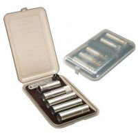 MTM Clear Smoke Choke Tube Case For 6 Extended Tubes CT641