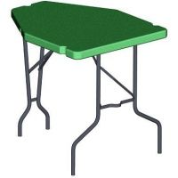 MTM Forest Green Shooting Table PST11