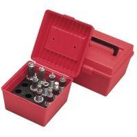 MTM Multiple Die Set Storage Box Red DB-4-30