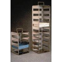 Nalge Nunc CryoBox Racks, Stainless Steel, NALGENE 5036-0009
