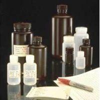 Nalge Nunc Environmental Sample Bottles, High-Density Polyethylene, NALGENE DS2185-0002 Amber, Wide Mouth