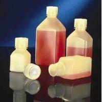 Nalge Nunc Square Laboratory Bottles, Polypropylene, Narrow Mouth, NALGENE 2016-1000