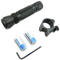 NcSTAR Gun Accessory - Tactical Flash Light / Blk / Batteries ATFLB