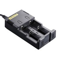 Nitecore Sysmax Intellicharge i2 2-Channel Smart Battery Charger