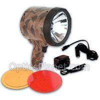 Optronics Illuma-Light 2,000,000 CP Rechargeable Spotlight Camo PR-205R w/ Red and Amber Lenses