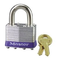Master Lock 4 Pin Tumbler Safety Padlock K 470-1DCOM