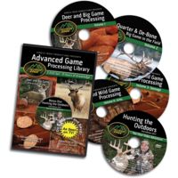 Outdoor Edge Cutlery 5 DVD-Game Processing Library