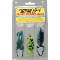 Panther Martin Frog Lure 3-Pack