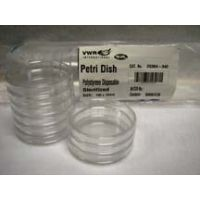 Parter Medical Petri Dishes, Sterile 3515 Gamma Radiation Sterilized Semi-Stackable