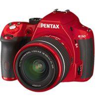 Pentax K-50 Digial SLR Camera with L18-55 WR Lens