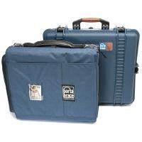 PortaBrace PB-2600IC Superlite Watertight Hard Case with Soft Internal Case and Divider Kit 14x11x6 int. (Blue)