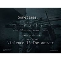 is violence the answer the black In his latest book when violence is the answer and that's what violence is violence is that black especially this is the art of manliness and men.