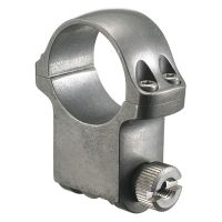 Ruger Scope Ring 6KTG Extra High Target Grey Stainless Steel 90296
