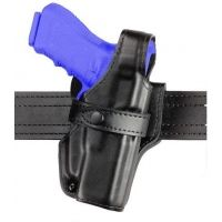 Safariland 070 Duty Holster, SSIII Mid-Ride, Level III Retention - Basket Black, Right Hand 070-610-181