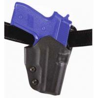Safariland 0707 Belt Slide Holster - STX Plain Black, Right Hand 0707-83-411