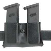 Safariland 079 Concealment Magazine Holder, Snap-On, Double - Carbon Fiber Look Black, Ambidextrous 079-53-65