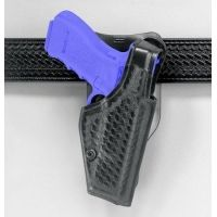 "Safariland 2005 ""Top Gun"" Low-Ride, Level I Retention Holster - Hi Gloss Black, Right Hand 2005-91-91"