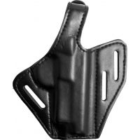 Safariland 328 Belt Holster, Pancake Style - Plain Black, Right Hand 328-140-61