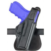Safariland 518 Paddle Holster - Plain Black, Right Hand 518-08-61