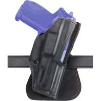 Safariland 5181 Open-Top Paddle Holster - STX Tactical Black, Left Hand 5181-99-132